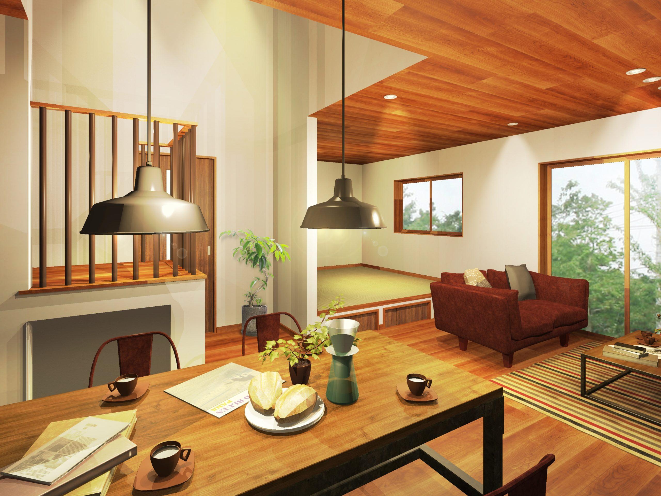 【人が集う空間をデザインしたお家】が完成しました!!